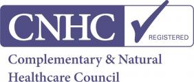 Complimentary and Natural Healthcare Council (CNHC) Registered